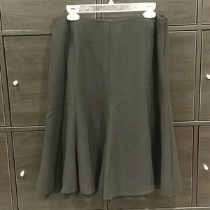 Dress Barn suiting crepe skirt